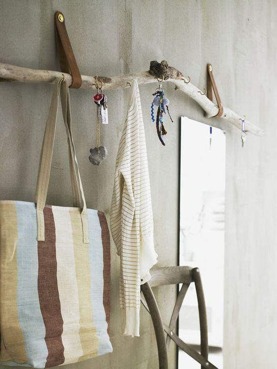 tolle treibholz garderobe boho pinterest deko ideen garderobe ste und treibholz. Black Bedroom Furniture Sets. Home Design Ideas