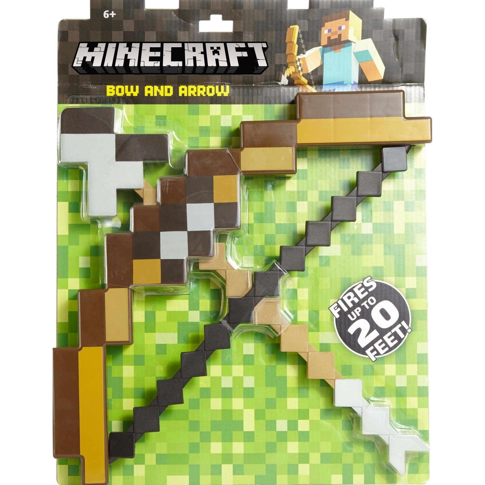 Minecraft Enchanted Bow & Arrow - amazon.com