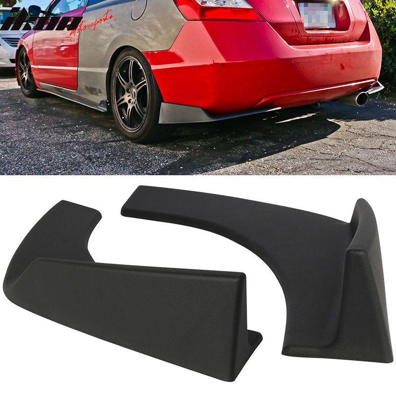 Universal Fit Front Rear Bumper Lip Splitters Winglets Canards 30x4
