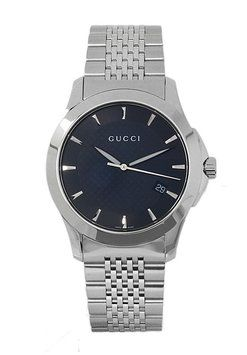 3fd22ec4c19 Gucci YA126402 Men s G-Timeless Black Dial Silver Tone Stainless Steel. Get  the lowest price on Gucci YA126402 Men s G-Timeless Black Dial Silver Tone  ...