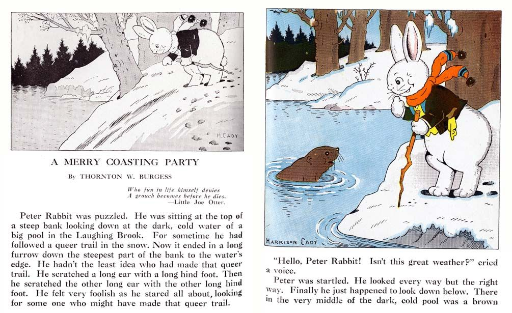 02_a_merry_coasting_party vintage childrens books