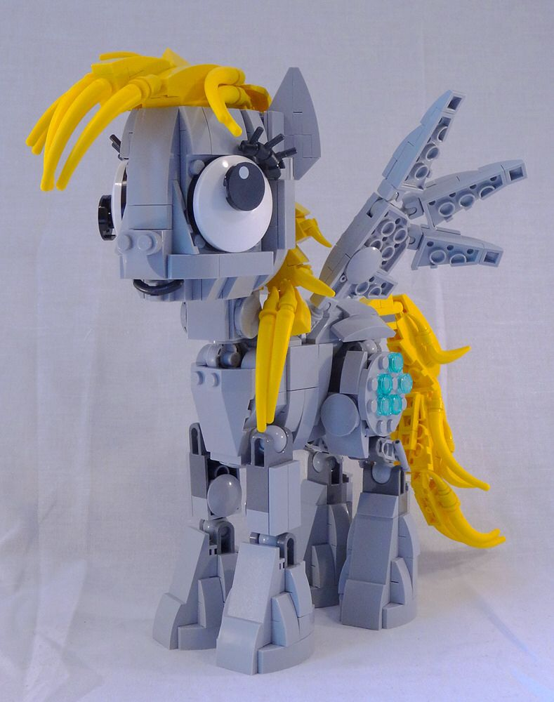 Derpy Hooves   LEGO     Animals   Creatures   Pinterest   Lego  Lego     Derpy Hooves