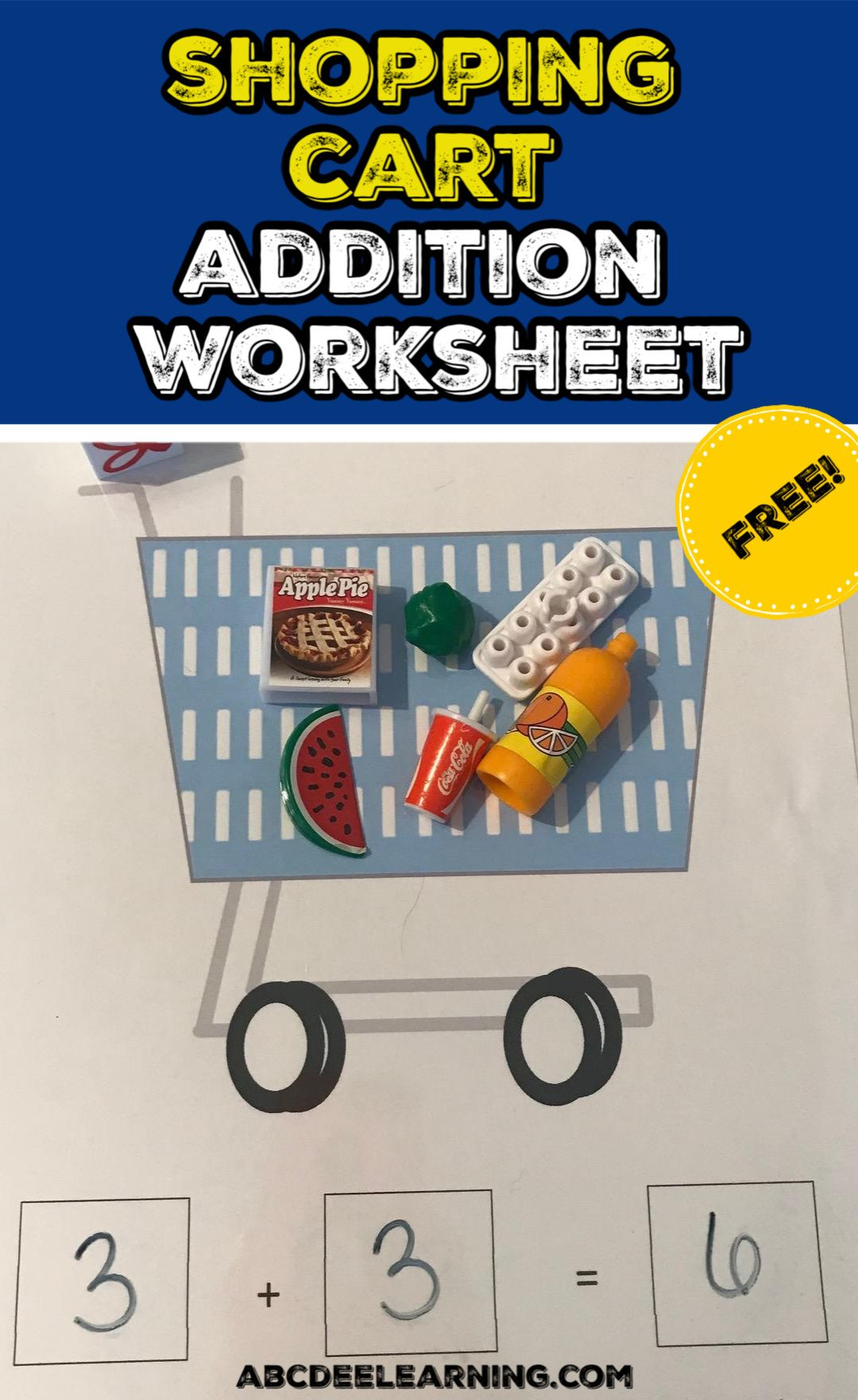 Shopping Cart Addition Worksheet Addition Activities Kindergarten Activities Addition Worksheets [ 1762 x 1080 Pixel ]