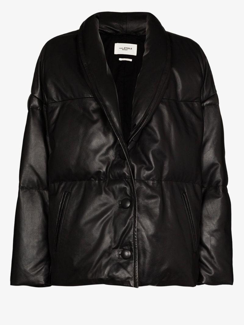 Isabel Marant Etoile Carterae Leather Puffer Jacket Browns In 2020 Isabel Marant Etoile Puffer Jackets Isabel Marant [ 1067 x 800 Pixel ]