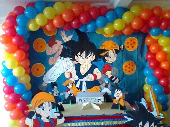 decoracin fiesta de dragon ball z imagui