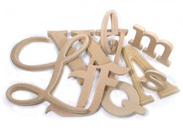 Medex Wooden Letters Wood Outdoor