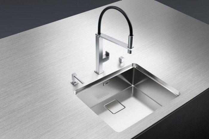 Küchenarmatur Anthrazit ~ Steelart arbeitsplatte blanco durinox edelstahl