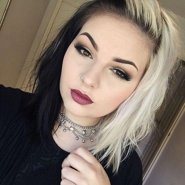 half black half white girl