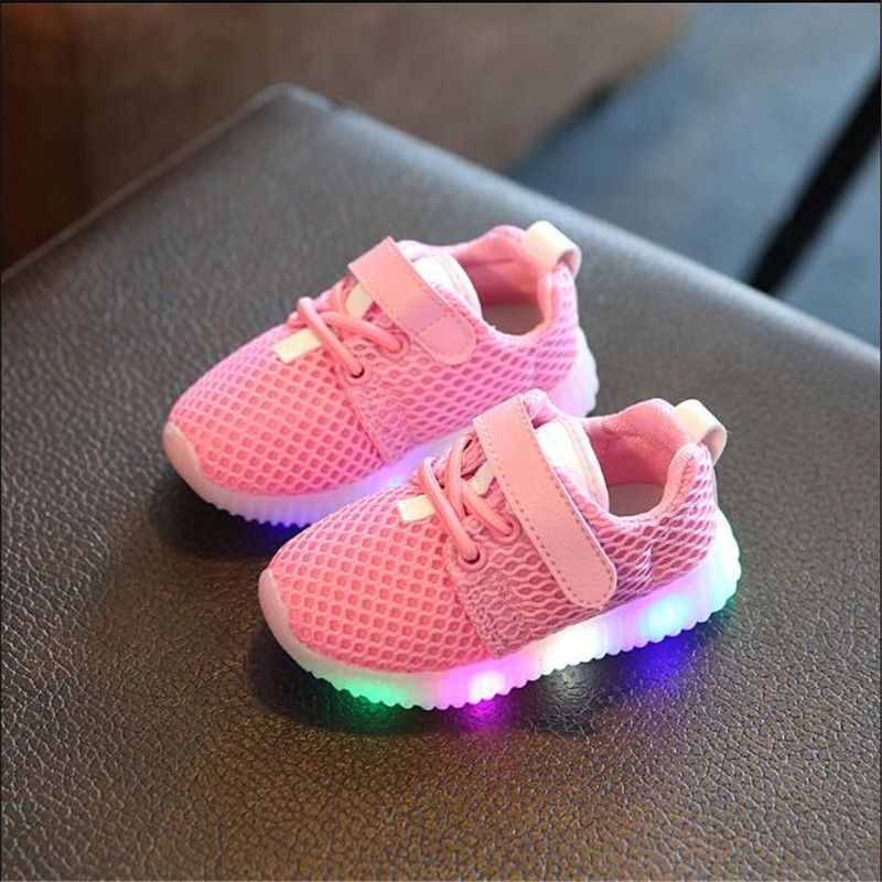 Click To Buy Kids Shoes 2017 New Fashion Children Shoes With Light Luminous Glowing Sneakers Baby Toddler B Kids Sports Shoes Baby Casual Shoes Kid Shoes