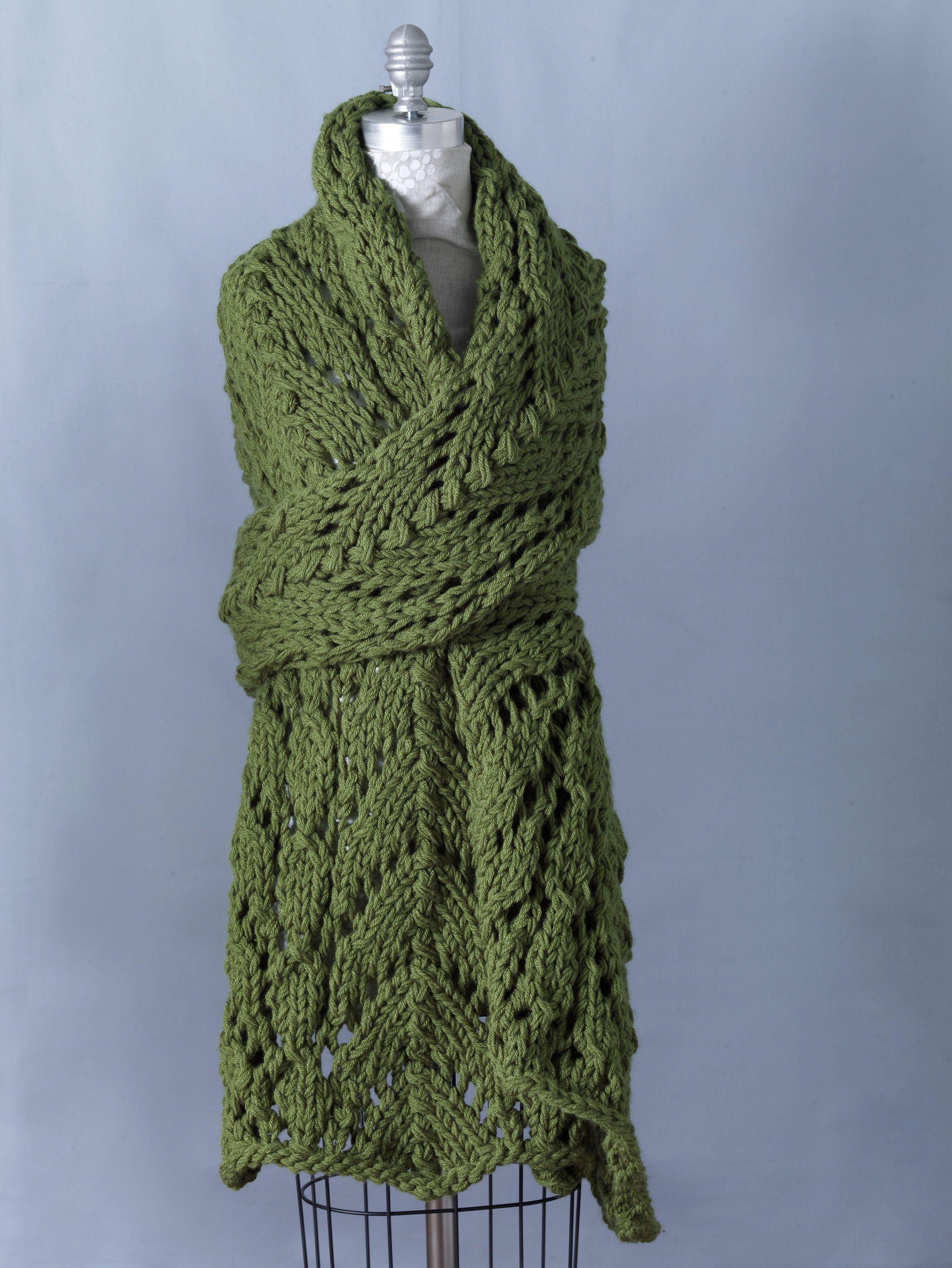 Free knitting shawl patterns free knitting pattern 81058ad free knitting shawl patterns free knitting pattern 81058ad spring lace shawl lion brand yarn bankloansurffo Gallery