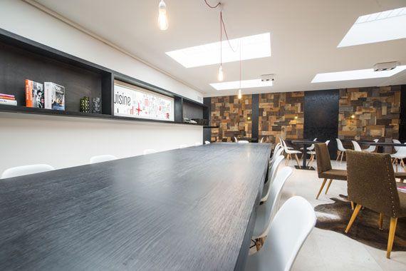 workshop-cafe, Bruxelles, Archipure Concept