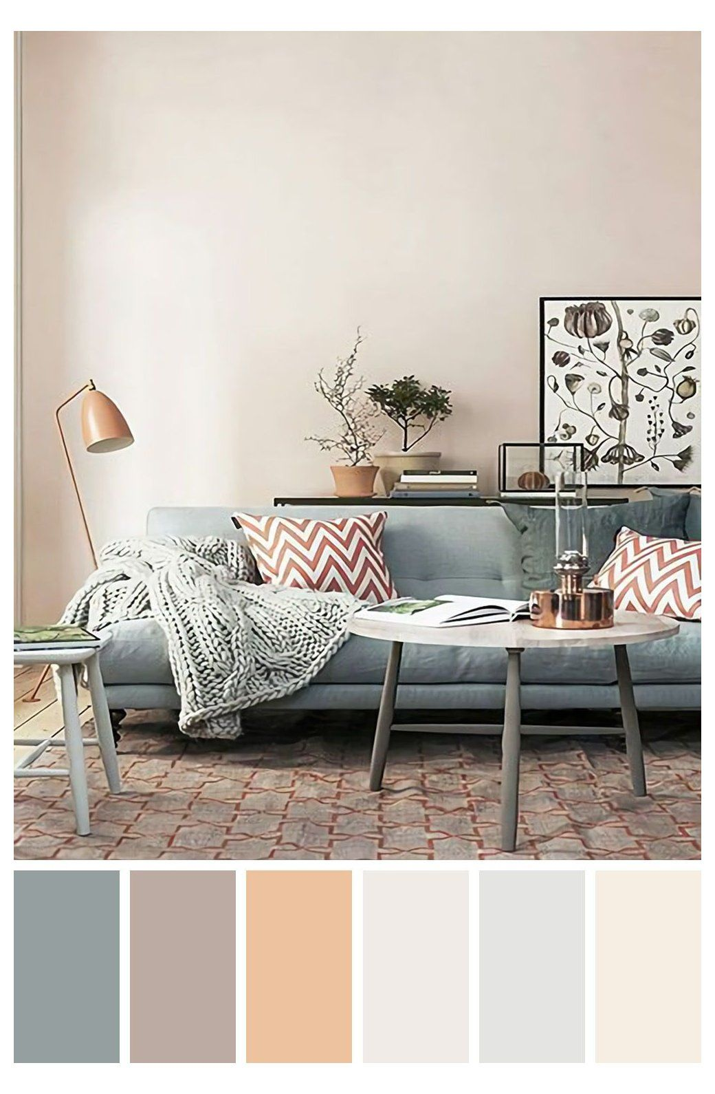 25 Gorgeous Living Room Color Schemes To Make Your Room Cozy Cozy Home Color Schemes The Living Room Color Schemes Living Room Wall Color Living Room Color Cozy living room colors
