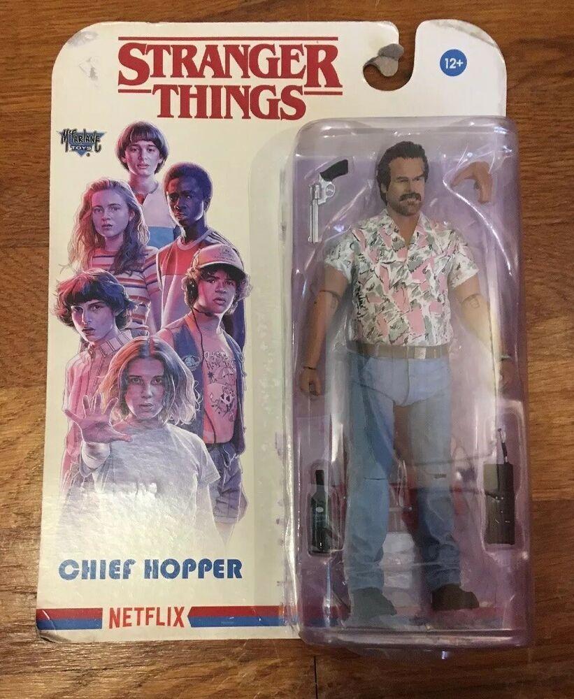 Chief Hopper 18 cm Stranger Things Actionfigur