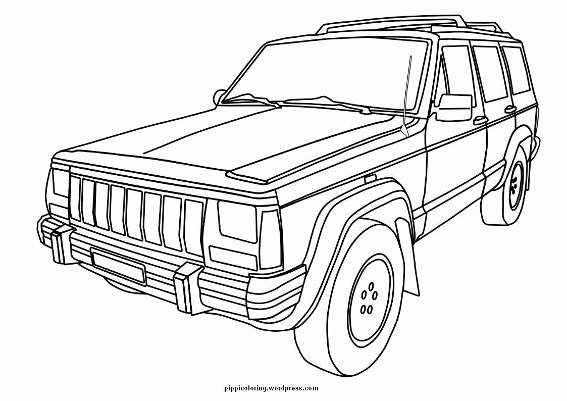Military Jeep Coloring Pages Jeep Drawing Cars Coloring Pages