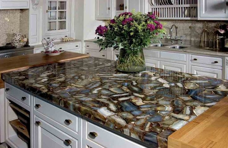 Mosaic Countertops Natural Stone Mosaic Countertop Replacing