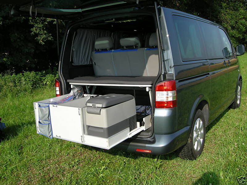 vw caravelle sleep pack with rear kitchen pod camper. Black Bedroom Furniture Sets. Home Design Ideas