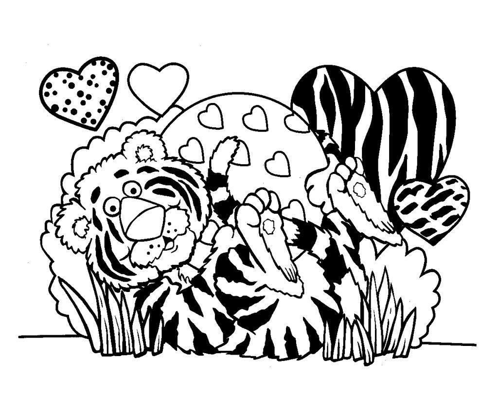 Valentine\'s Day Coloring Pages | Valentines Day Coloring Page Free ...