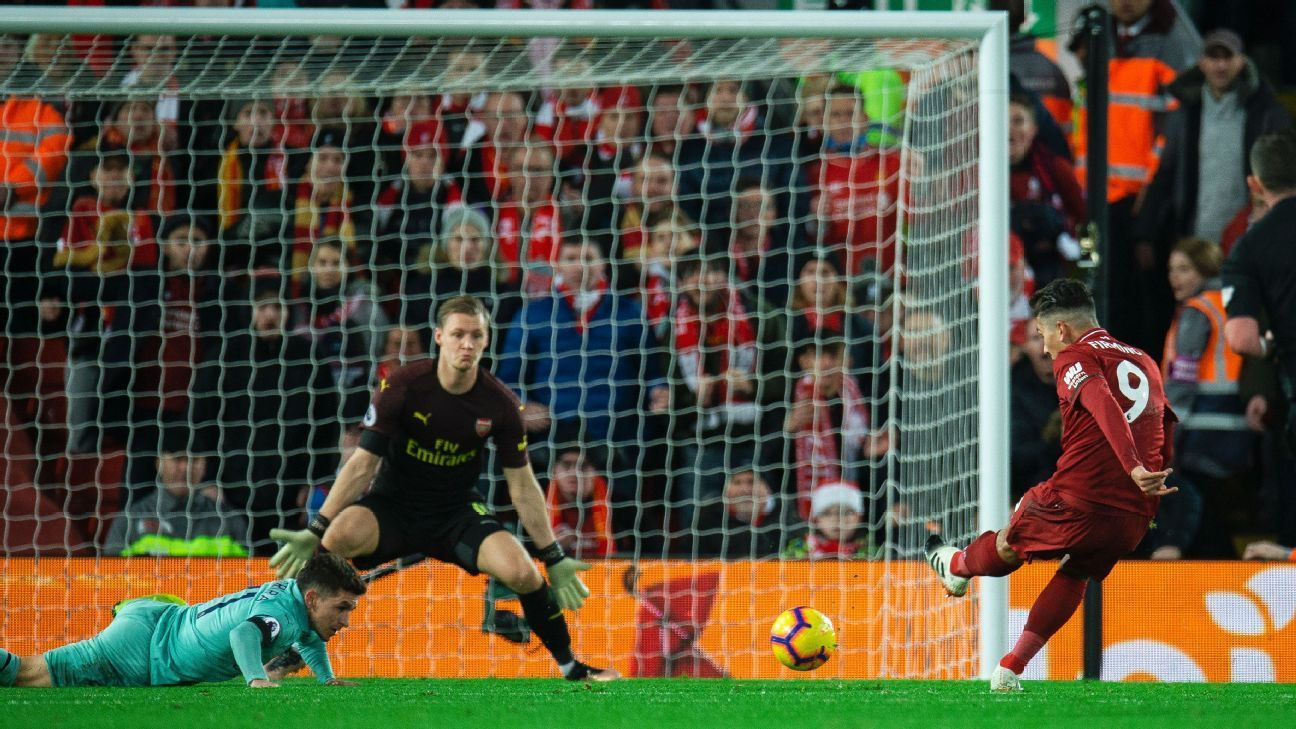 Liverpool Vs Arsenal Football Match Report December 29