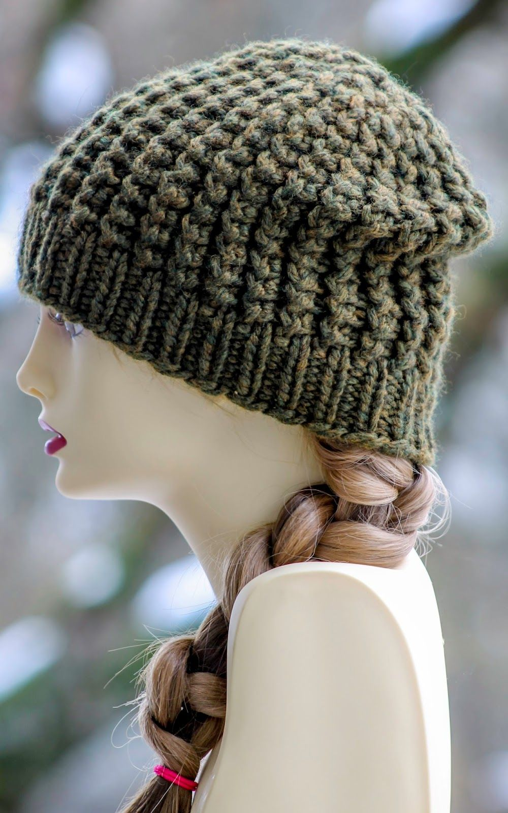 Super Baby Beanie (With images) | Beanie knitting patterns ...