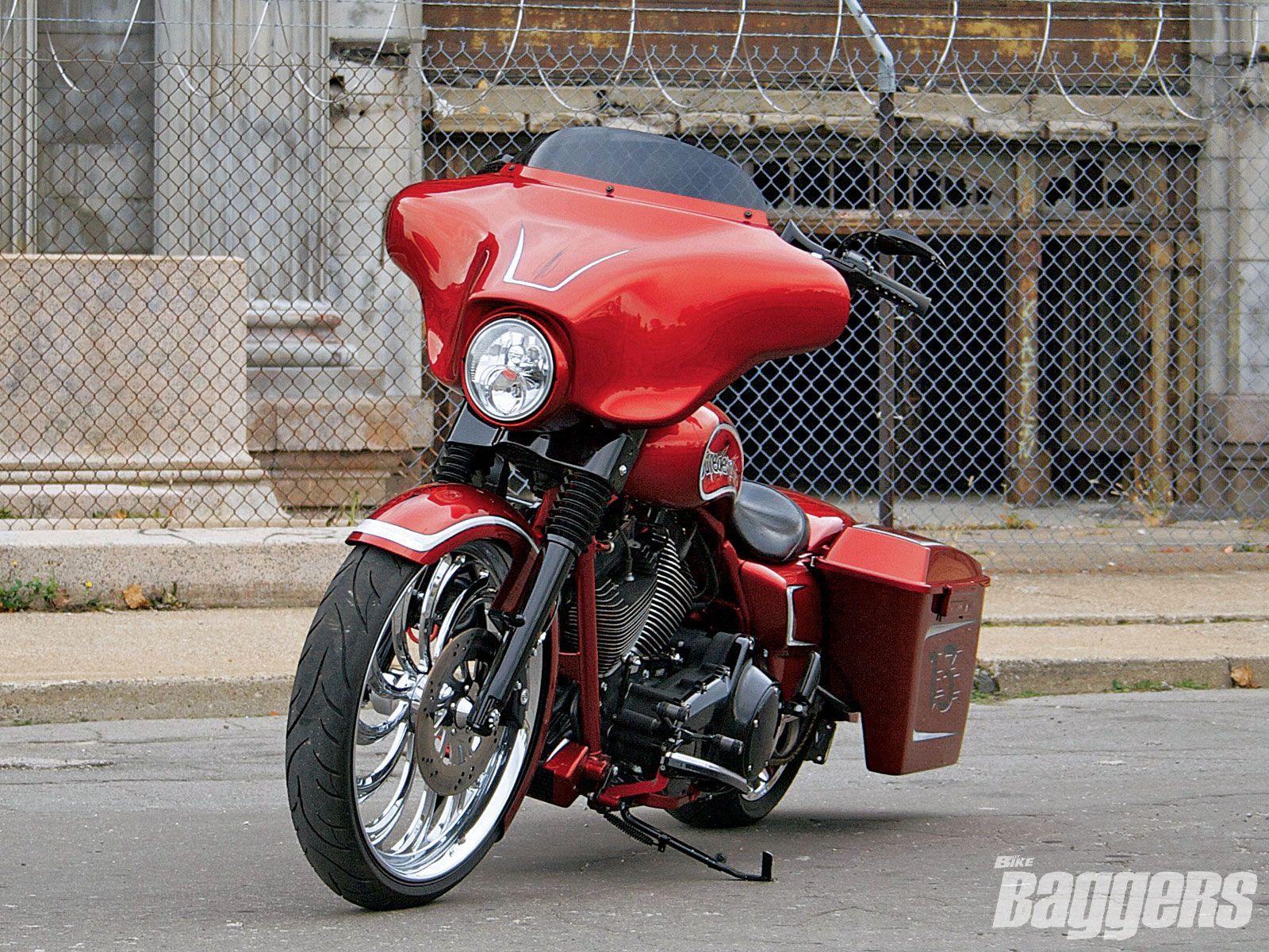 Daredevil choppers 2009 harley davidson flhx street glide baggers