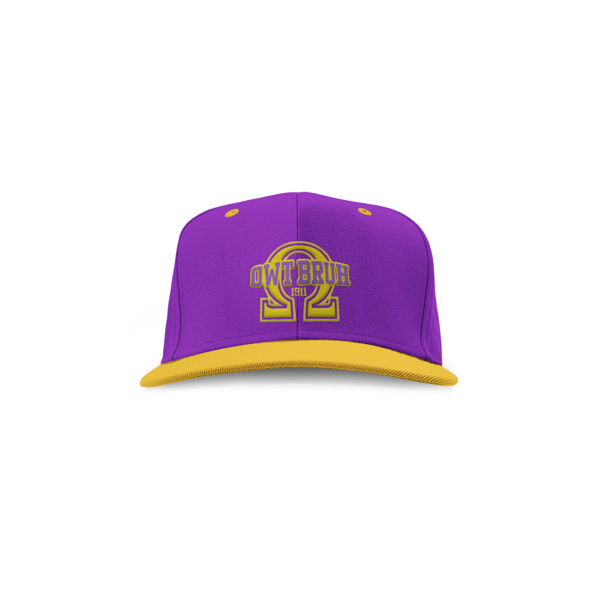 4a97bf4bbca Omega psi phi embroidered owt bruh snap back hat omega psi phi png  2000x2000 Omega psi