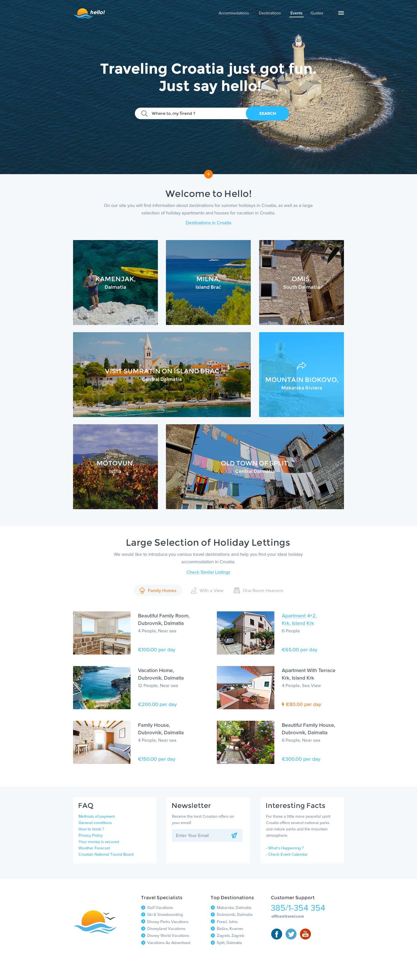 Dribbble Hello Png By Balkan Brothers Travel Website Website Design Layout Travel Design
