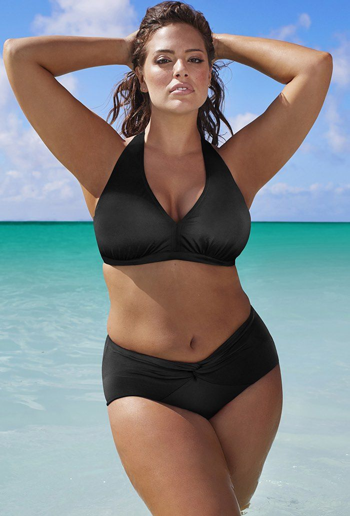 279dd5a7a5ef9 Ashley Graham makes history as the first plus size woman to feature in  Sports Illustrated