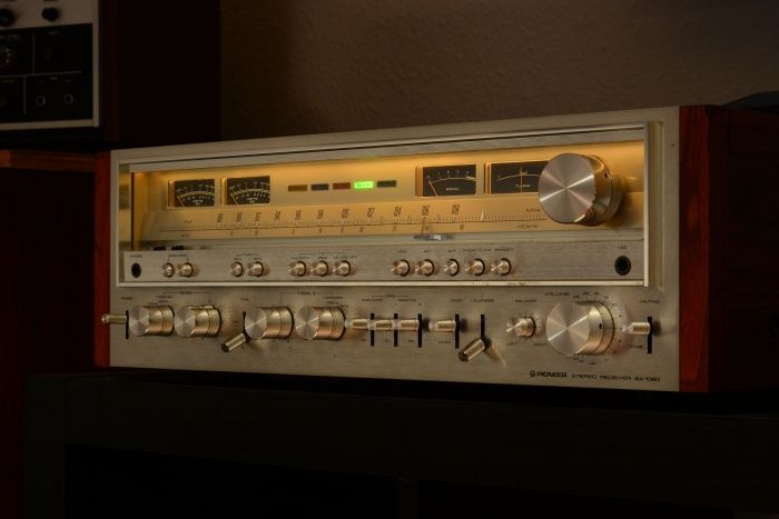 Pioneer SX-1080 a great receiver with 120 watts per channel