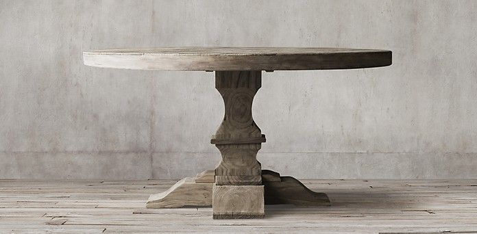 Wonderful Dumont Round Table | Restoration Hardware
