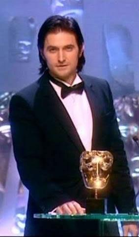 Richard Armitage presenting at the 2007 (?) BAFTA awards.