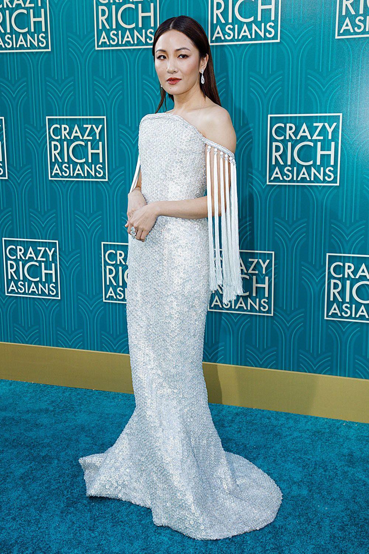 Leading lady Constance Wu at LA premiere of Crazy Rich