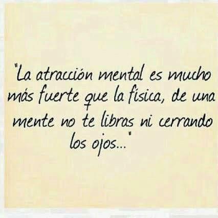 Atracción mental.. (: