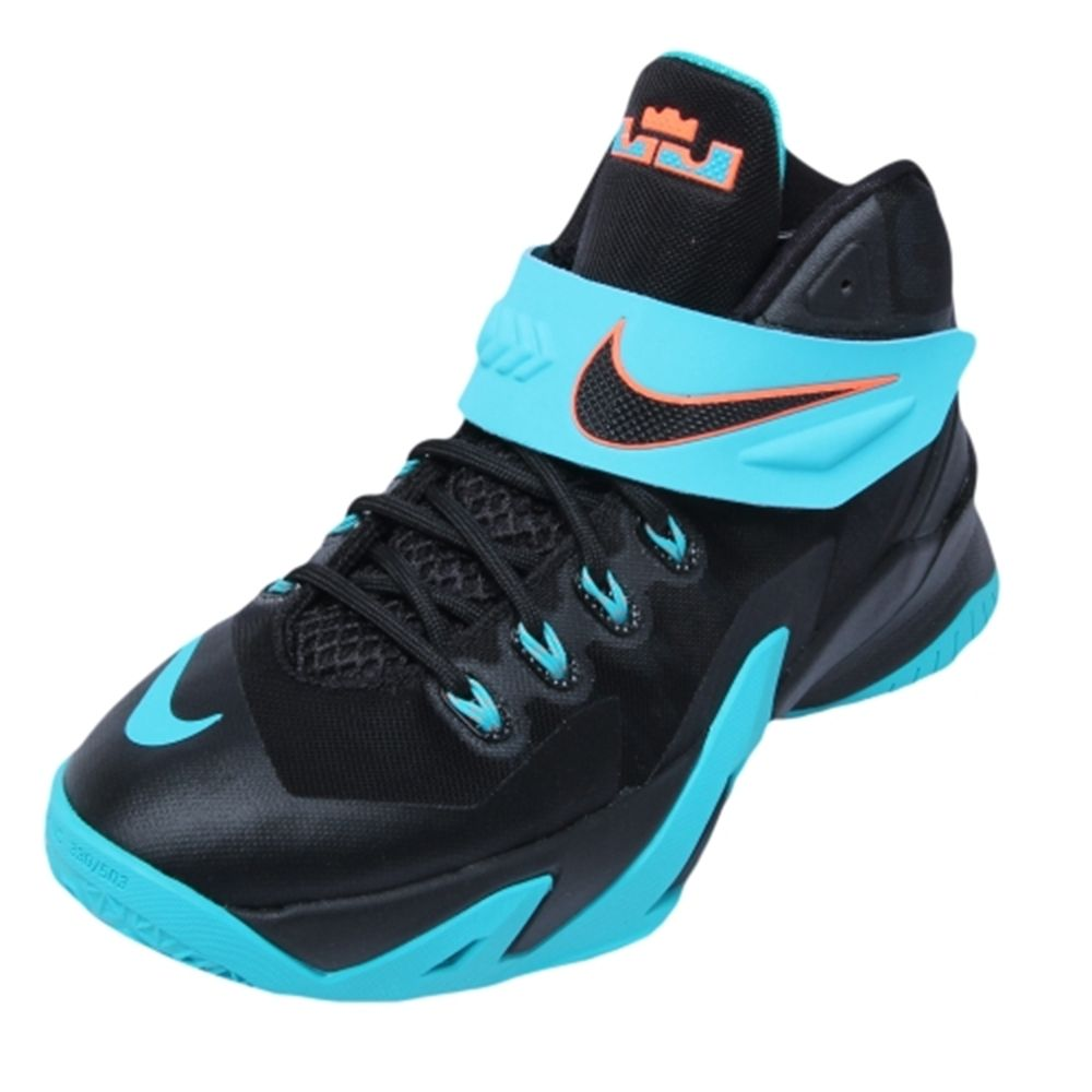 Youth Lebron James Nike Black White Dusty Cactus Zoom Soldier Viii Shoes Black Nikes Kid Shoes Lebron James Kids