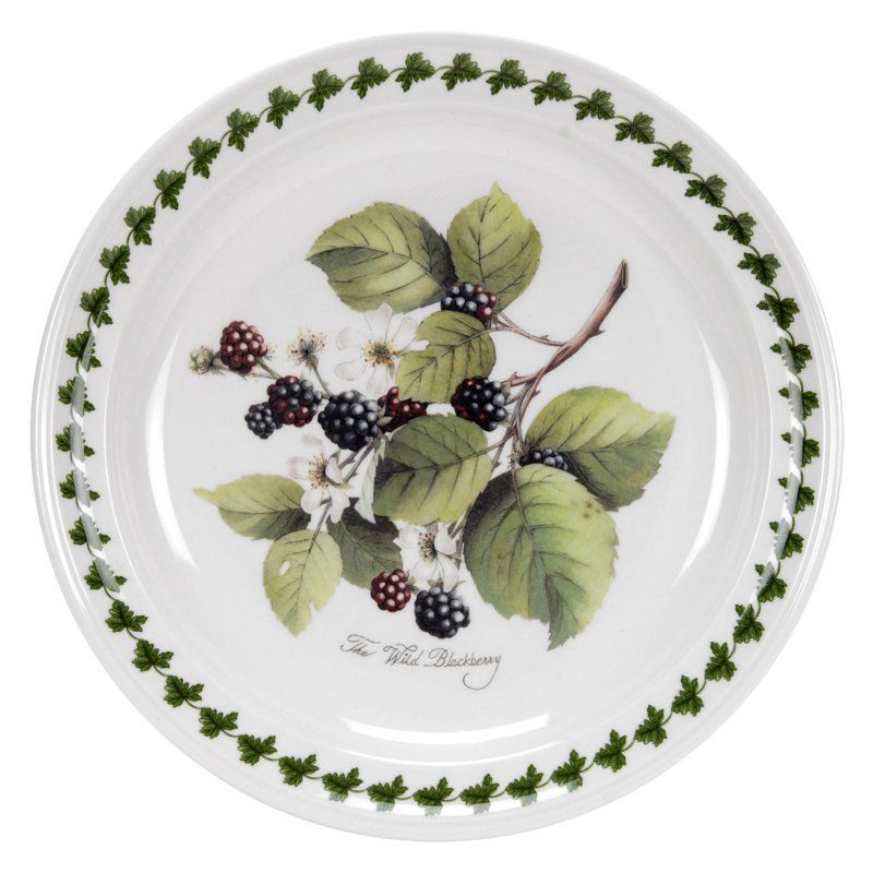 11.75-Inch Set of 6 Fortessa Fortaluxe Vitrified China Petals Plate