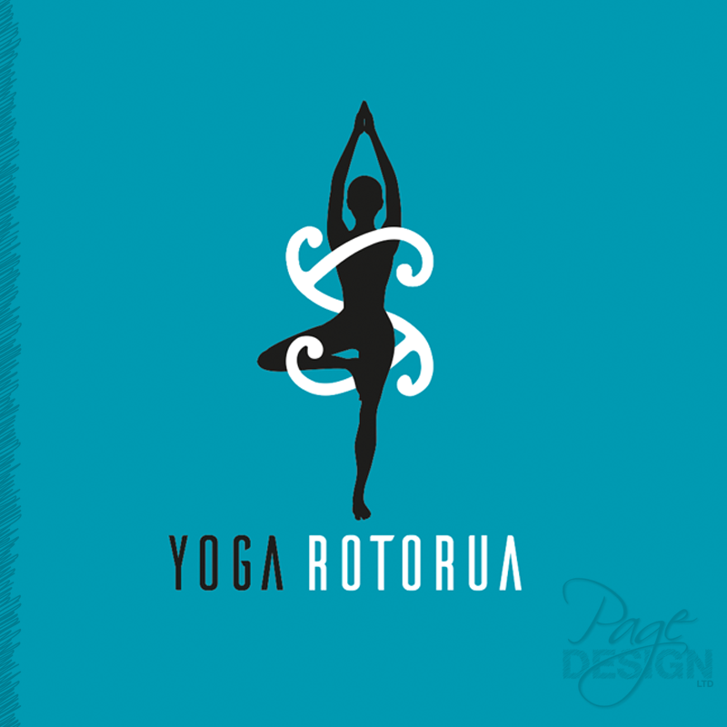 Logo design for Yoga Rotorua