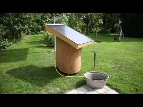 Der Alm Und Gartenwichtel Solar Warmwasser Im Garten Und Auf Der