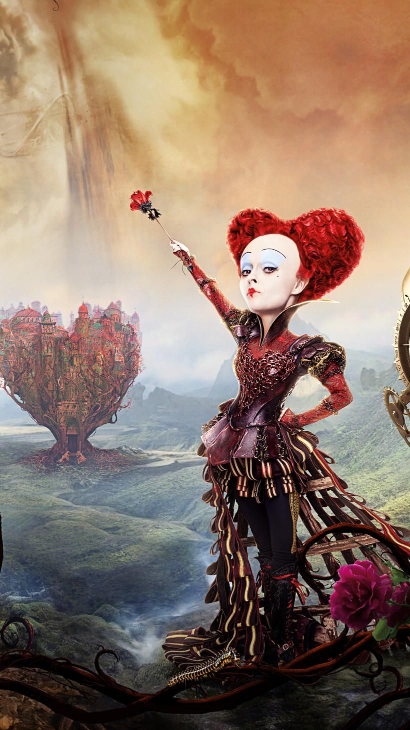 Queen Of Hearts Alice Through The Looking Glass 2016 Alice