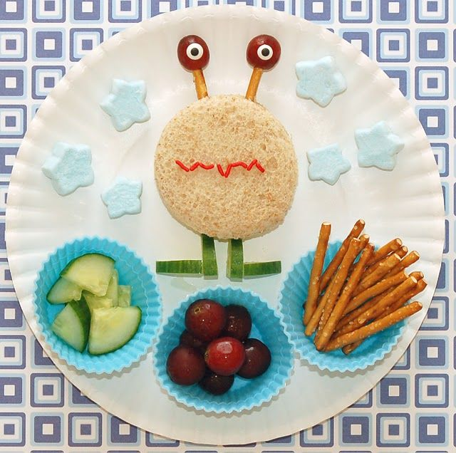 love this alien lunch!