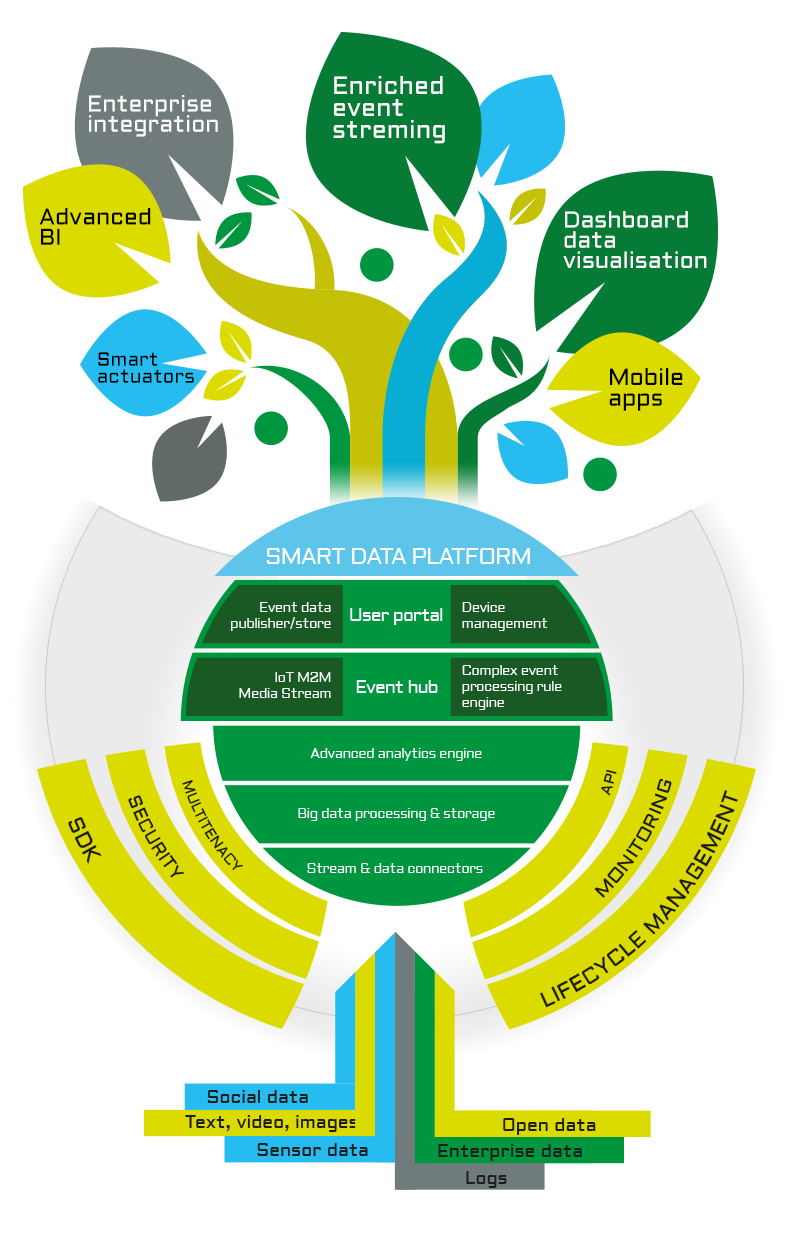 SmartDataNet - Infografica