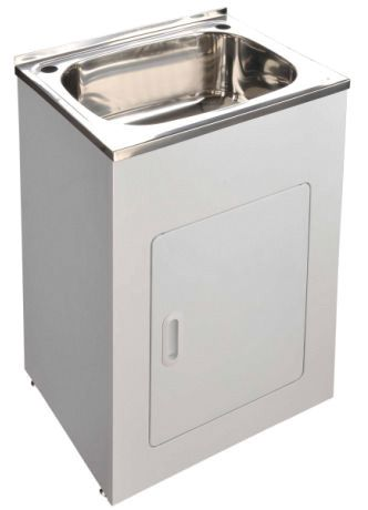 45L Laundry Tub And Cabinet   63cm Ostar