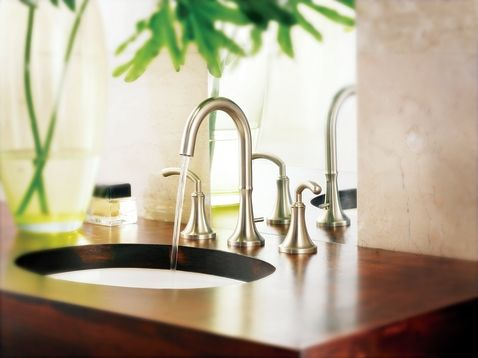 Moens Icon Collection Offers A Modern Style That Perfectly Fits - Moen icon bathroom faucet for bathroom decor ideas