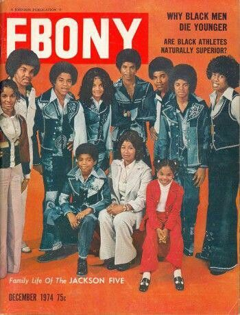 The Jacksons Cover Of Ebony Magazine Have You Seen My Childhood