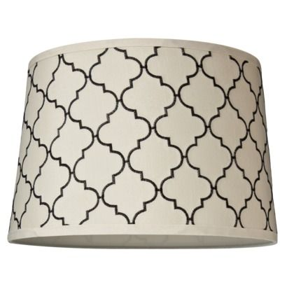 Lamp Shades At Target Embroidered Lamp Shade  White $20 Target  Decor  Pinterest
