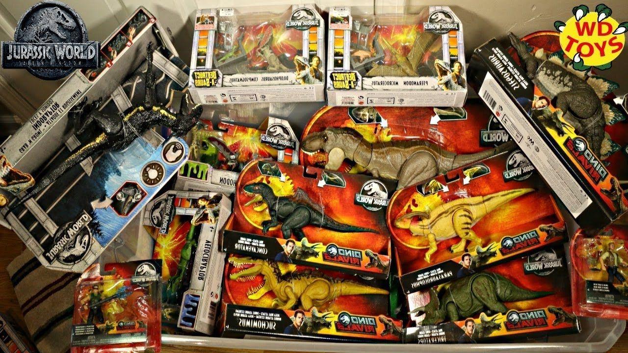 New Jurassic World Dino Rivals Hunt For Dinosaur Toys Fallen Kingdom Mat Falling Kingdoms Jurassic World Dinosaur Toys
