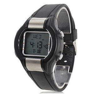 Tanboo Unisex Multi-Functional Style Noctilucent Rubber Digital Automatic Wrist Watch with Heart Rate Monitor (Black) by Tanboo. $18.99. Wrist Watches. Women's, Men's Watche. Sport Watches Feature Multi-Functional. Gender:Women's, Men'sMovement:AutomaticDisplay:DigitalStyle:Wrist WatchesType:Sport WatchesFeature:Multi-FunctionalBand Material:RubberBand Color:BlackCase Diameter Approx (cm):4Case Thickness Approx (cm):1.3Band Length Approx (cm):28Band Width Approx (cm):2