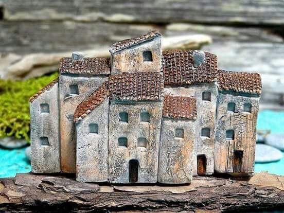 Mosaico houses pinterest ceramica modellismo e ceramiche