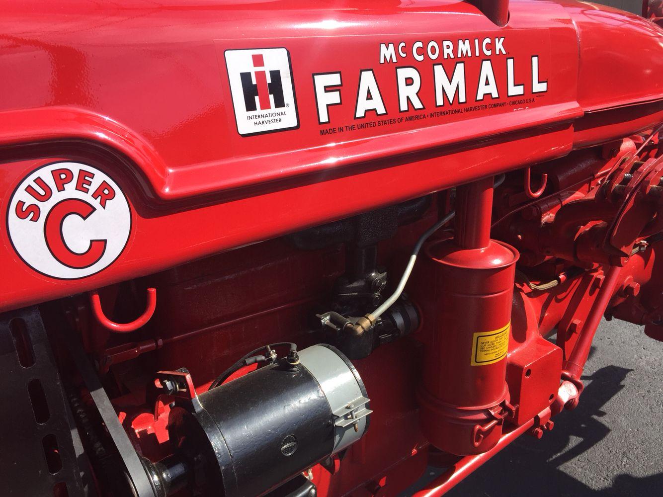 FARMALL Super C tractor - photo by Matt Jury, Realtor