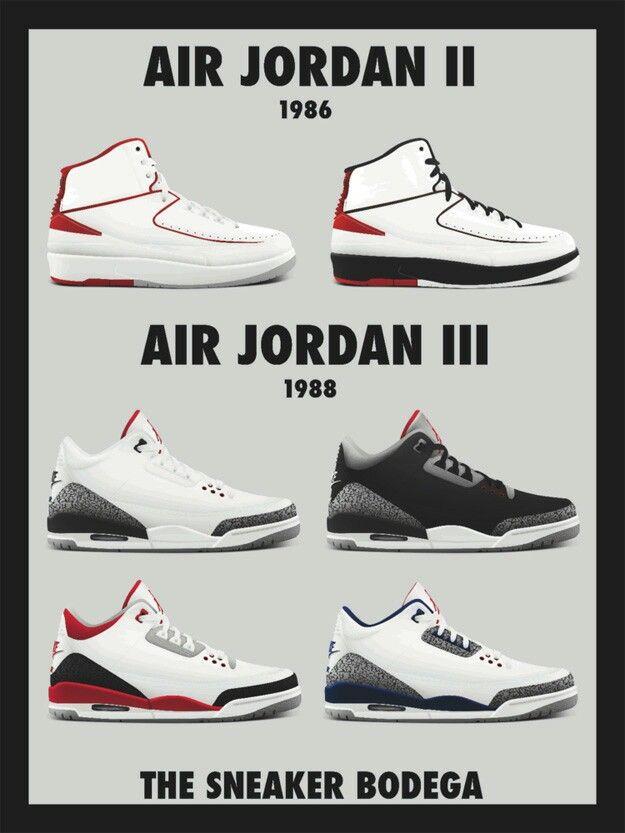 Air Jordan 2 \u0026 3 | Air jordans retro