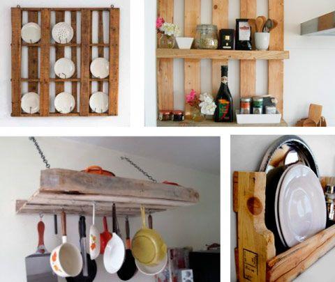 decorar con palets de madera se ha puesto muy de moda es muy fcil - Decoracion Palets