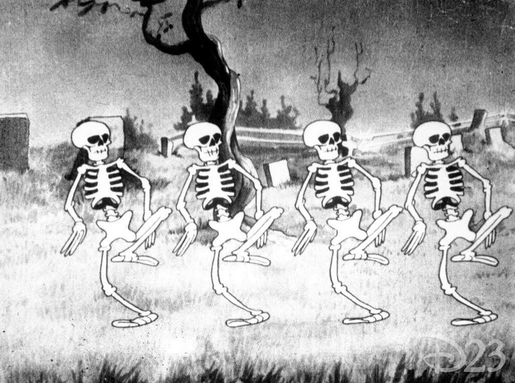 Spooky scary skeletons Halloween cartoons, Skeleton